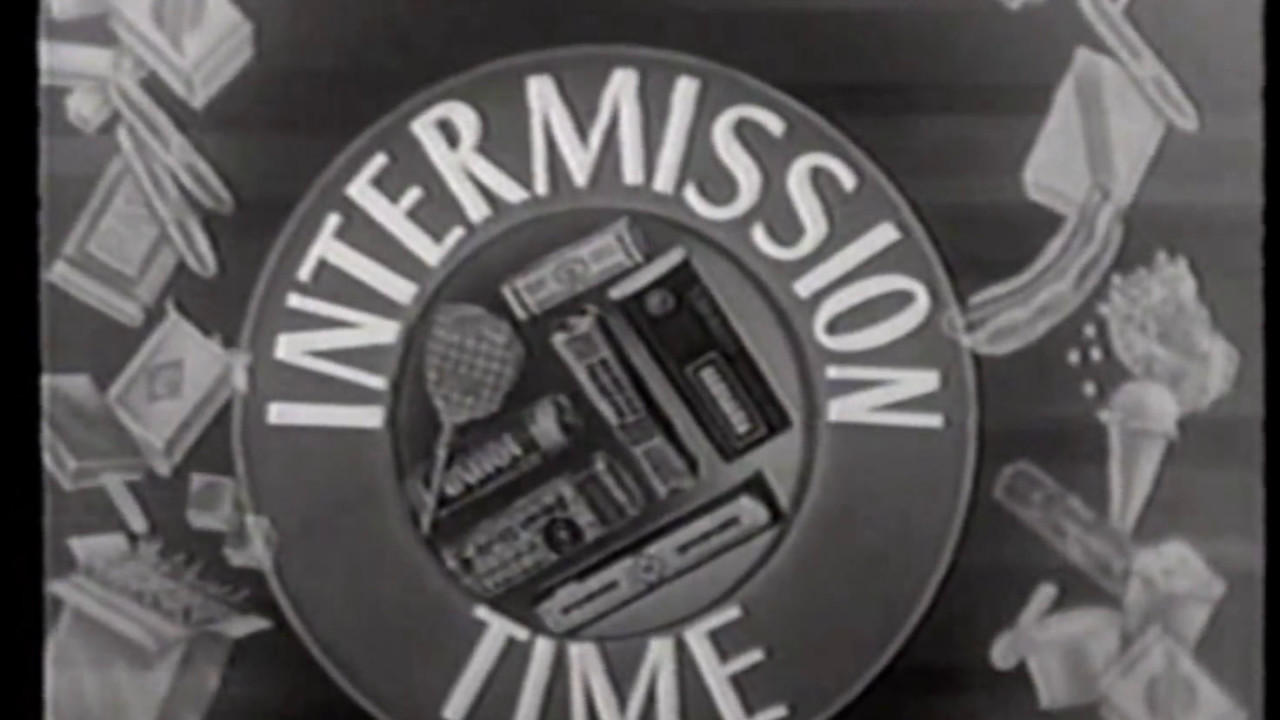 Drive In Movie Theater Intermissions Intermission Time 1950s Youtube