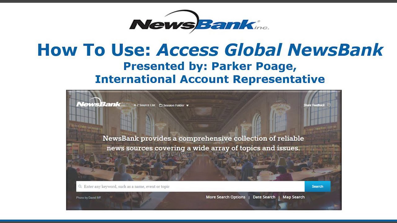 Featured Resource - Access Global NewsBank