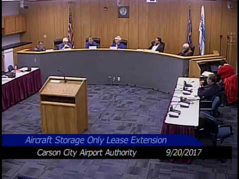 Airport Authority Meeting 9/20/2017