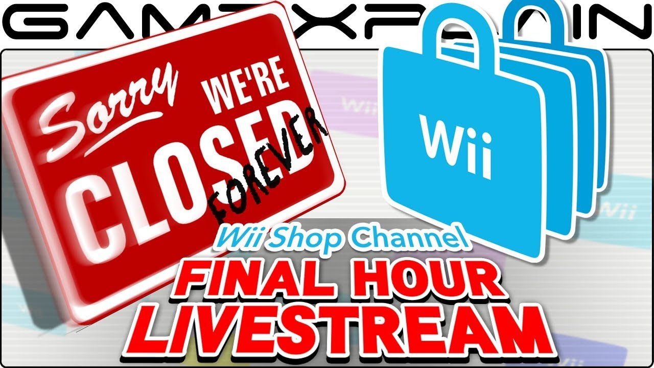 b38507ad24eeb8 Goodbye Wii Shop Channel! The FINAL Hour – Shopping time