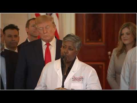 President Trump Introduces Dr. Elaina George To Discuss..
