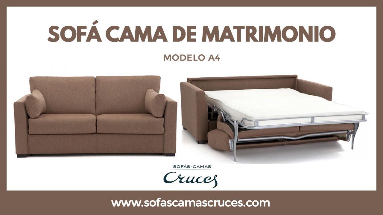 Sofa Cama De Matrimonio De Uso Diario Youtube