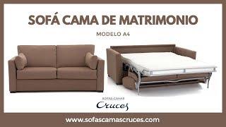 Sofá Cama De Matrimonio De Uso Diario Youtube