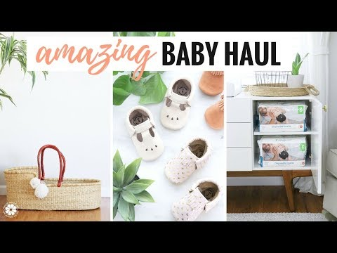 Amazing Baby Haul + Giveaway! Natural, Eco-Friendly, Quality Finds | Pregnancy Series
