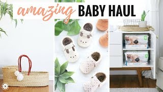 Amazing baby haul + giveaway! natural ...