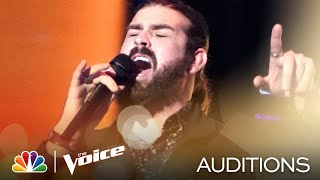"""Parede Valente-Johnson's Got the Rasp on Cream's """"Crossroads"""" - The Voice Blind Auditions 2020"""