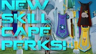 New Skill Cape Perks!