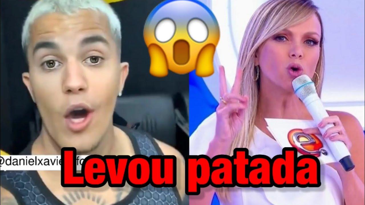 Justin Bieber brasileiro toma patada no programa da Eliana !!!😱