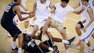 Georgetown Basketball Team Brawls in China