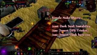 Mop Destruction Warlock Dps Guide Cobrak