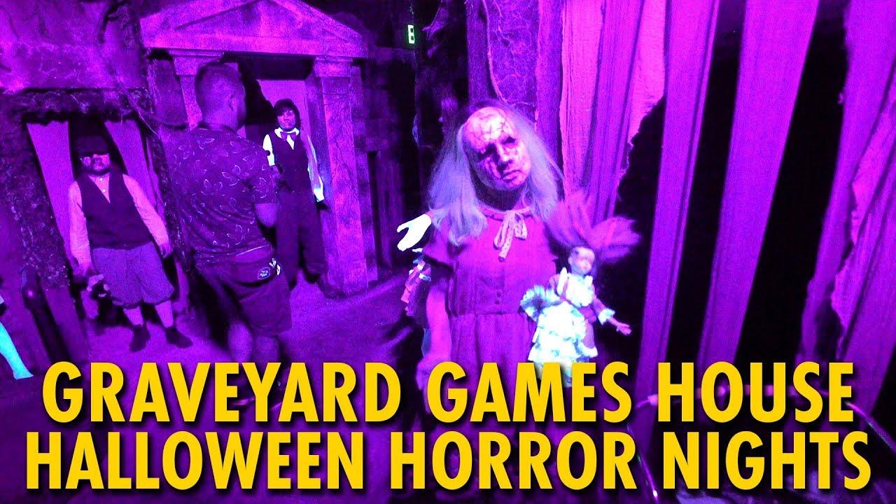 Graveyard Games At Halloween Horror Nights 29 Universal Orlando Youtube