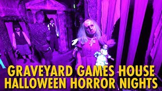 Graveyard Games At Halloween Horror Nights 29   Universal Orlando