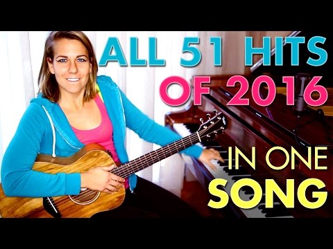 Girl mashes up all 51 Hits of 2016