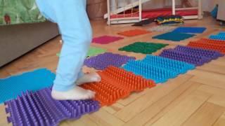 видео Где купить массажные коврики для ног