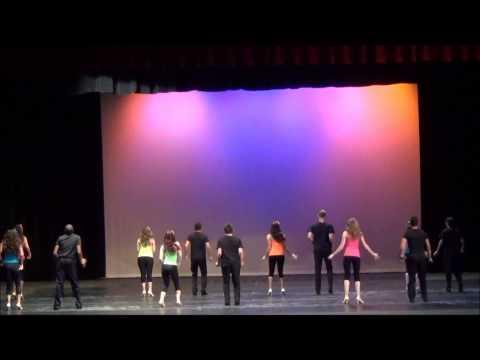 "Spring 2014 FHS EP Dance Show Ballroom Class ""Treasure"""
