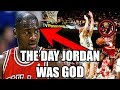 The Day Michael Jordan Was The GOD of The NBA