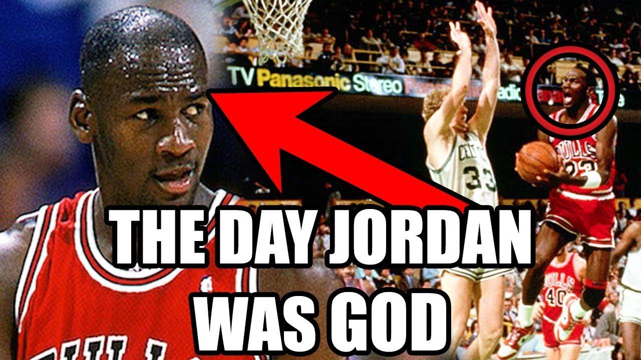 Larry Bird Calls Michael Jordan God: This Day in Sports History