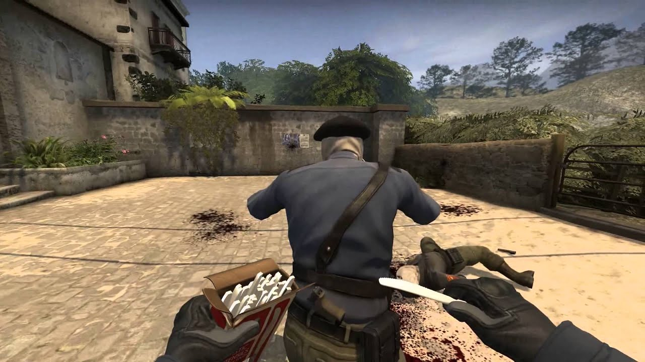 how to keep flipping your knife in cs go