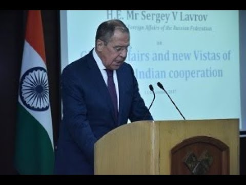 Address by H.E. Mr Sergey V Lavrov (Minister of Foreign Affairs of the Russian Federation)