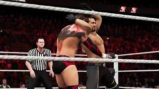WWE 2K16 Gameplay: Finn BГЎlor vs. Seth Rollins