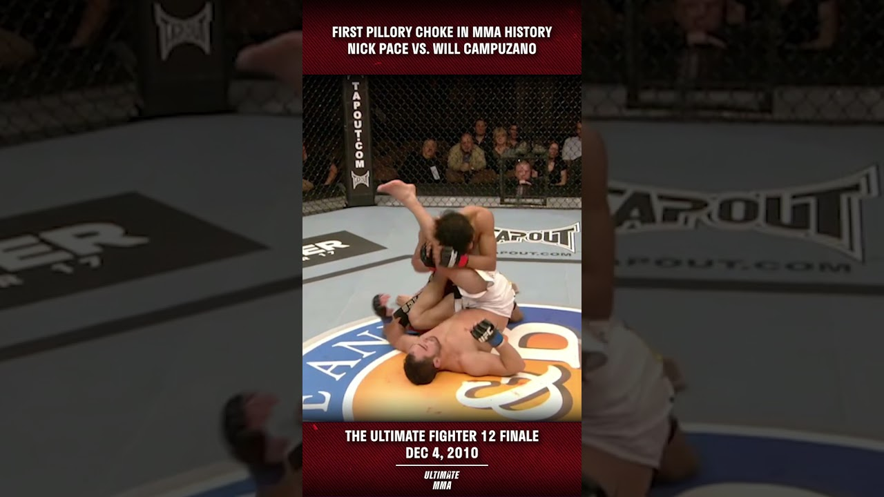 Nick Pace's SCARY Pillory Choke Submission #SHORTS
