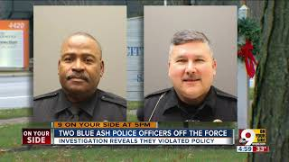 Two Blue Ash police officers fired