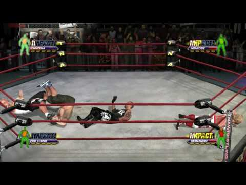 LAX vs John Cena!! - TNA Impact Part 12