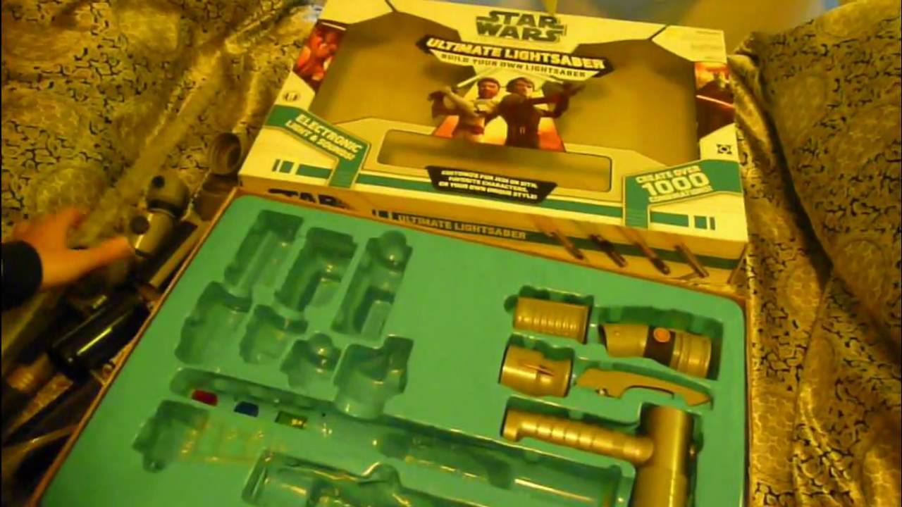 Clone Wars Build Your Own Lightsaber Kit