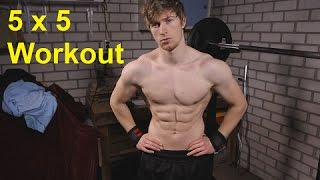 5 x 5 Workout For Muscle Mass: Part 1
