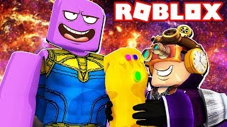 SPEND ALL MY ROBUX FOR MORE THANOS ON ROBLOX!!