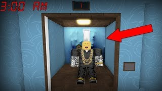 DON'T RIDE THE ELEVATOR AT 3:00 AM (Roblox Bloxburg)