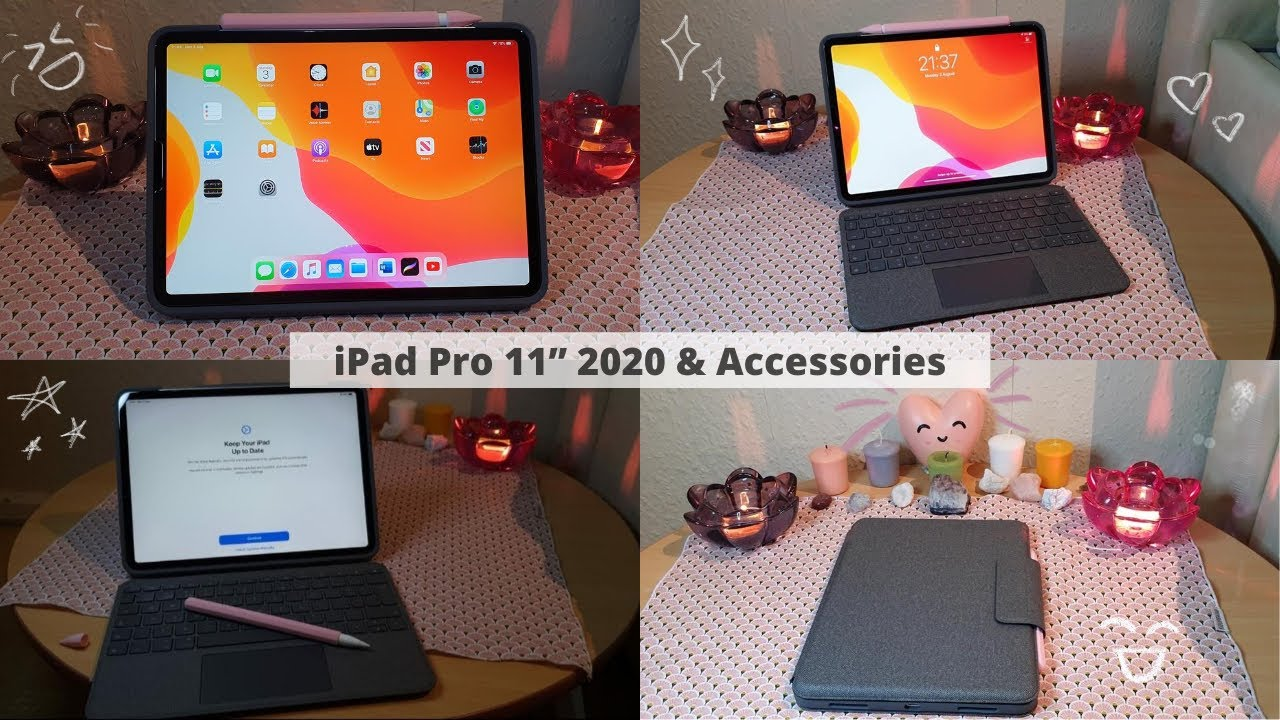 "IPAD PRO 11"" 2020 & ACCESSORIES UNBOXING!"