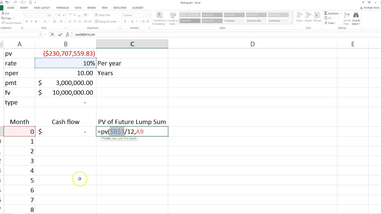 Estimate Lease Payment >> Compute The Present Value Of Minimum Future Lease Payments
