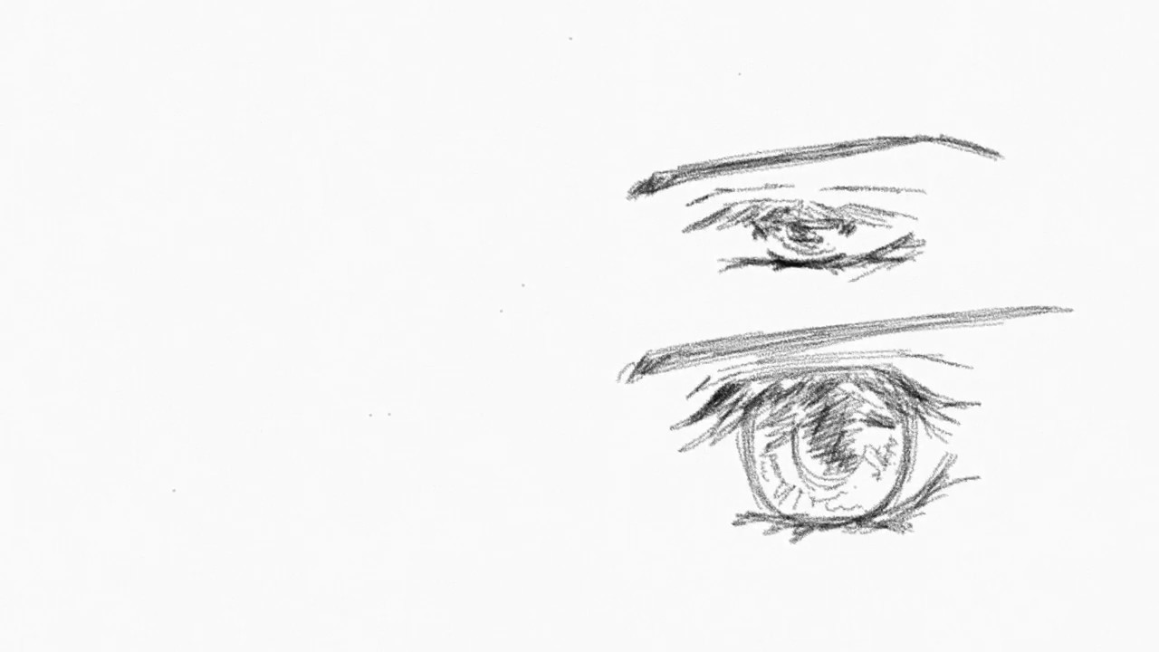 how to draw bishounen eyes