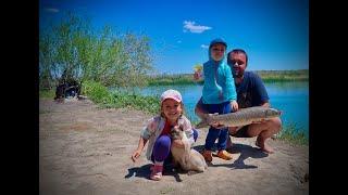 шикарна семейная рыбалка на Амура на реке Или июнь 2021