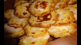 Русские Шаньги с картошкой (без дрожжей).
