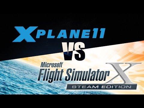 FSX vs X-PLANE 11