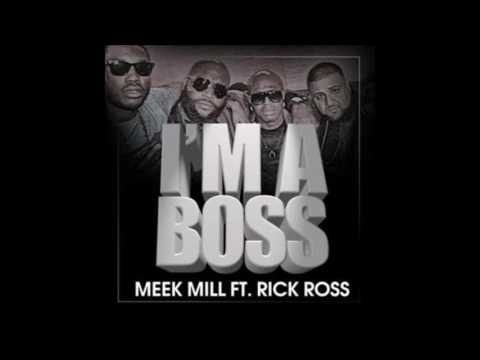 Meek Mill - Im a Boss (Ft. Rick Ross) (BASS BOOSTED)