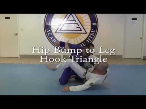 Hip Bump to Leg Hook Triangle