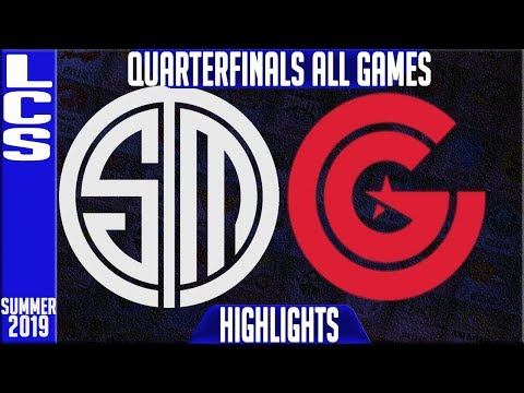 TSM vs CG Highlights ALL GAMES | LCS Summer 2019 Playoffs Quarterfinals | Team Solomid vs Clutch