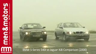 BMW 5-Series 540i vs Jaguar XJ8 Comparison (2000)