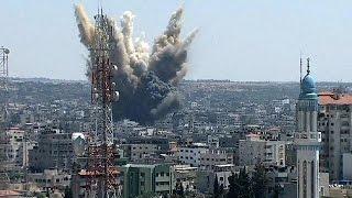 İsrail Gazze yi yine vurdu