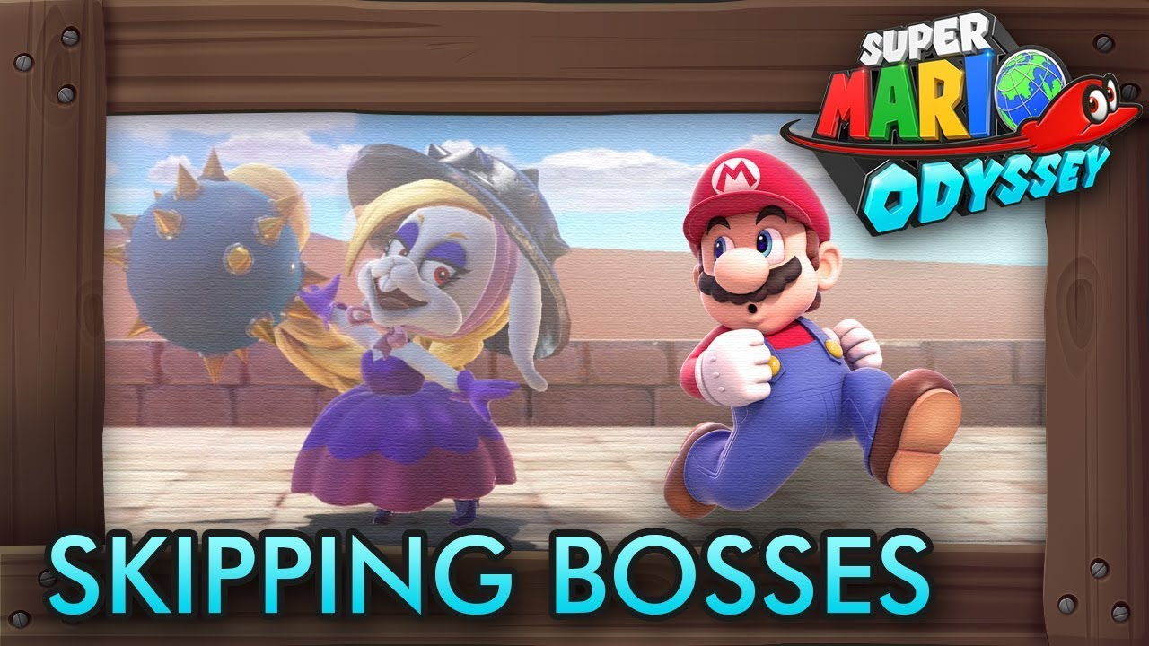 What Happens When You Skip Story Bosses in Super Mario Odyssey?