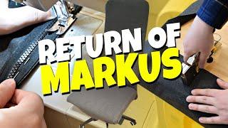 Return of the Ikea Markus Chair - Upholster & Refurbish
