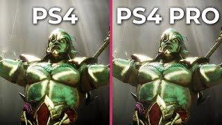 Mortal Kombat 11 – PS4 vs. PS4 Pro Graphics Comparison & Frame Rate Test