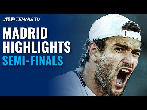 Zverev v Thiem; Ruud v Berrettini | Madrid 2021 Semi-Final Highlights