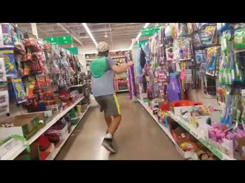 BEING A REAL NINJA TURTLE IN THE DOLLAR STORE