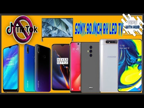 sony-samsung-for-8k-crown-with-$70,000-98-inch-tv-tik-tok-banned-in-india-oneplus-7-mi-poco-f2-a8