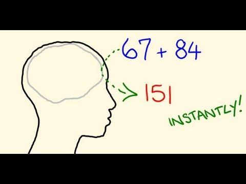 mental math tricks addition  subtraction   head youtube