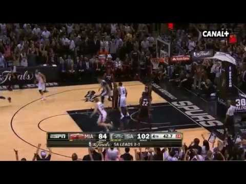 Resumen 5º partido NBA FINALS 2014